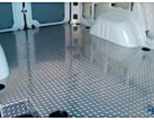 Sprinter Cargo Area Aluminum Treadbrite Flooring Diamond