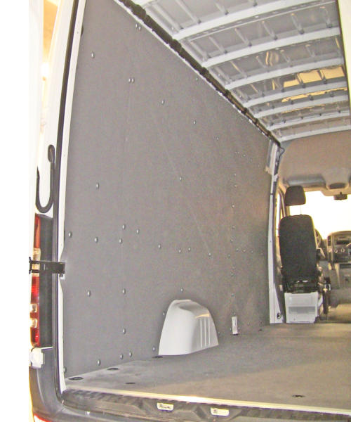 Sprinter Wall Liner Panels Ballistic Wall Liner Panels