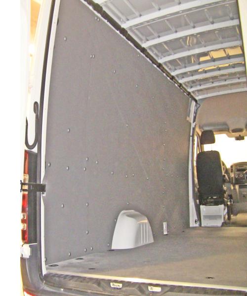 Sprinter wall liner panels ballistic wall liner panels - Commercial van interiors locations ...